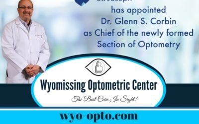 Penn State Health St. Joseph Appoints Dr. Glenn S. Corbin Chief of The Section of Optometry