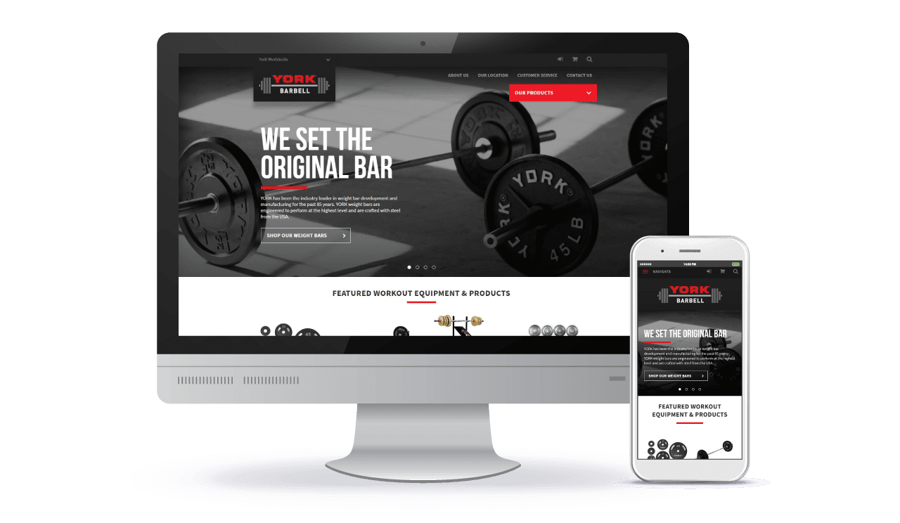 York Barbell Case Study Home