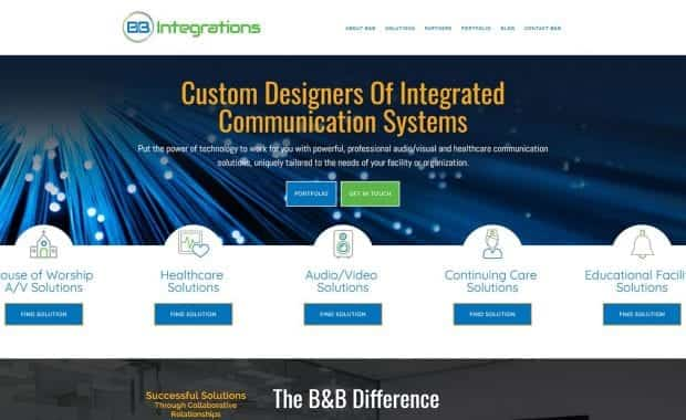 B&B Integrations Website
