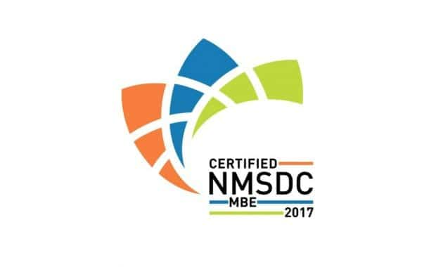 Certified NMSDC MBE 2017