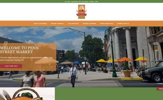 Penn Street Market Website