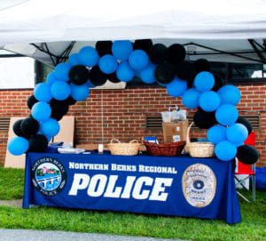 National Night Out 2019 at Northern Berks Regional Police Department