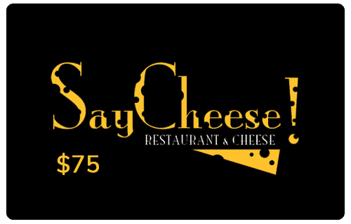 Say Cheese! Gift Card