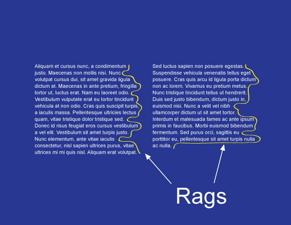 Rags - Web Design
