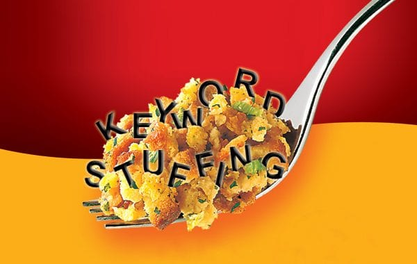 SEO Tips - keyword stuffing