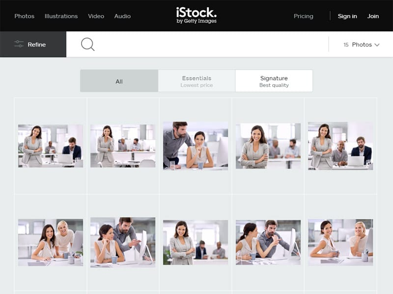 reasons your business should not use stock photography