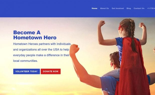 Hometown Hero Website