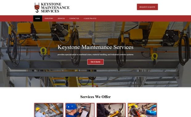 Keystone Maintenance Services Websites