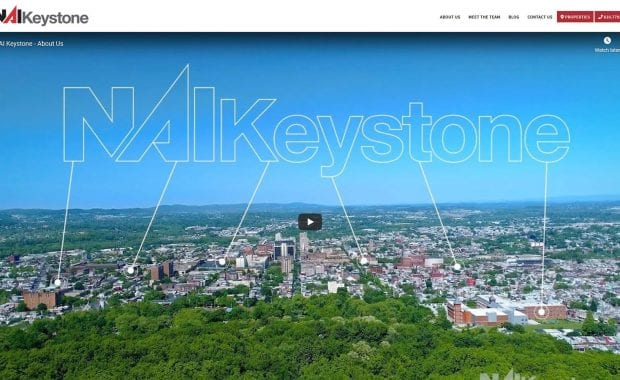 NAI Keystone Website