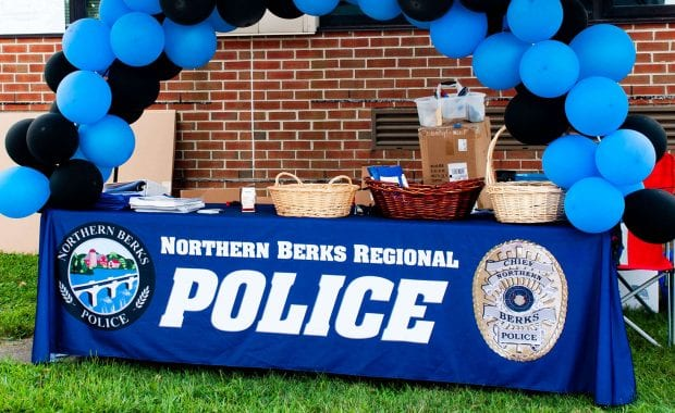 Northern Berks Regional Police National Night Out 2019