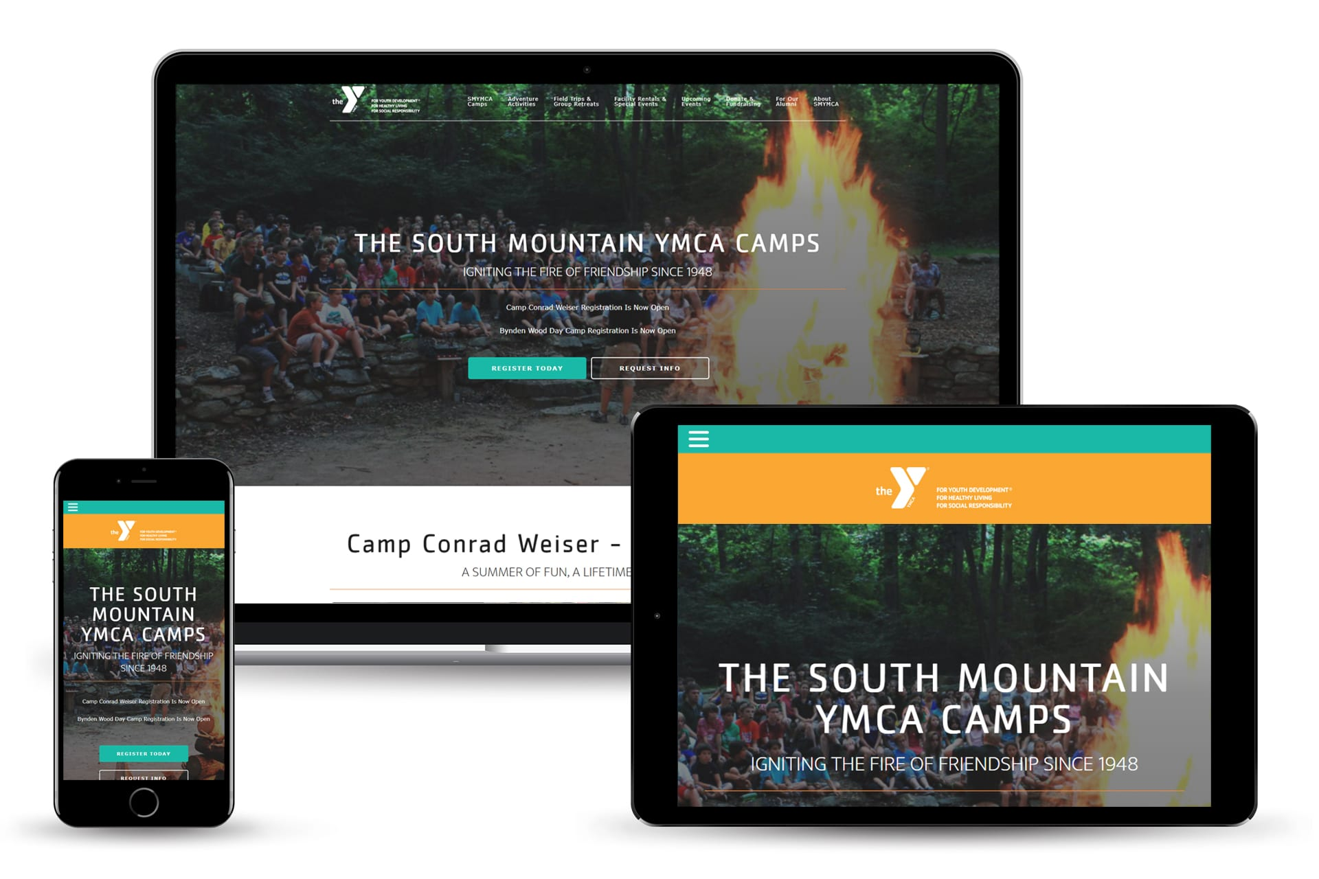 South Mountain YMCA - Website Design Project