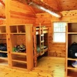 Summer Camp Cabin Interior - South Mountain YMCA
