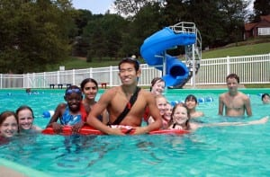 Swimming lessons in berks county Pa