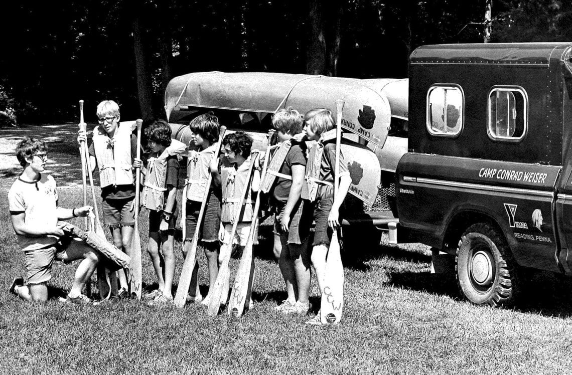 Our History - South Mountain YMCA Camps