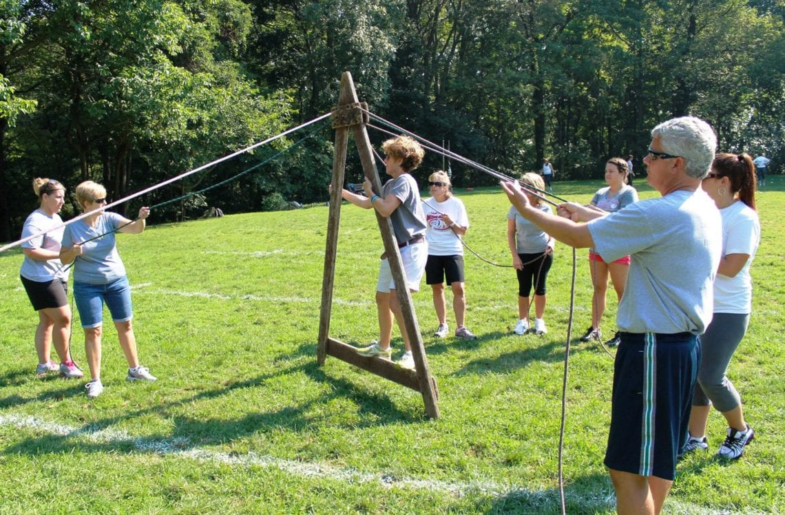 Teambuilding activities - South Mountain YMCA Camps - Reading, Pa