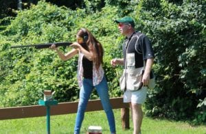 Trap Shooting at South Mountain YMCA Camps