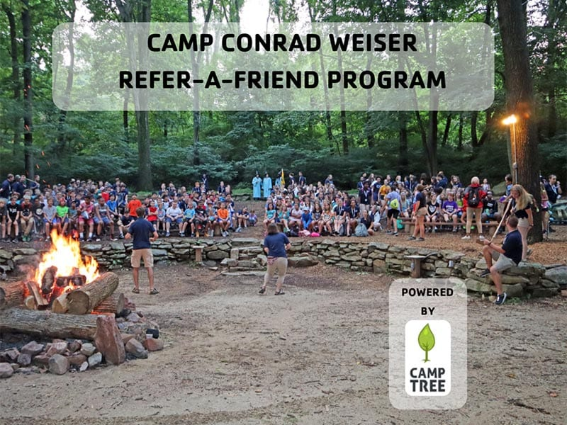 Come to Camp For Free - Refer-A-Friend Program