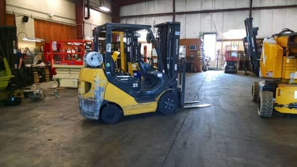 Used forklifts for sale and rent