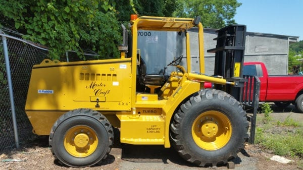 Rough terrain equipment for sale and rent