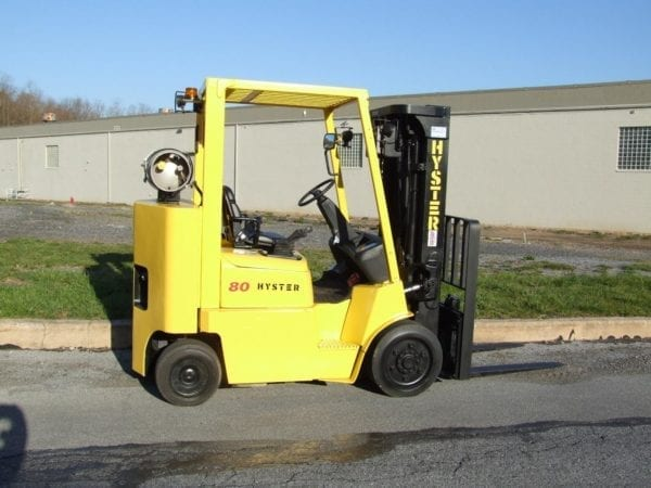 Cushion tire forklifts for sale and rent