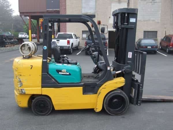 Cushion Tire Forklifts in Boyertown and New Holland Pa