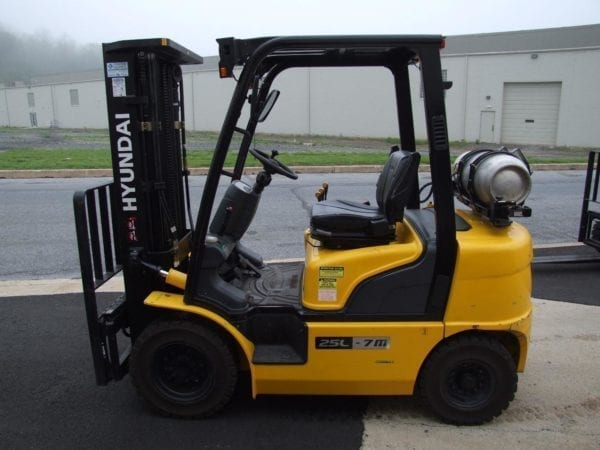 Pneumatic tire forklifts for rent and sale in Boyertown and New Holland Pennsylvania