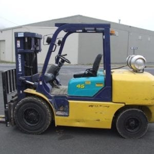 Used Pneumatic cushion tire forklifts in New Holland and Boyertown, Pa (1)