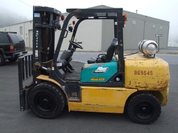 Used Pneumatic cushion tire forklifts in New Holland and Boyertown, Pa