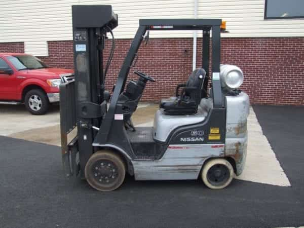 Nissan MCP25 | Cushion Tire Forklifts | Boyertown & New Holland