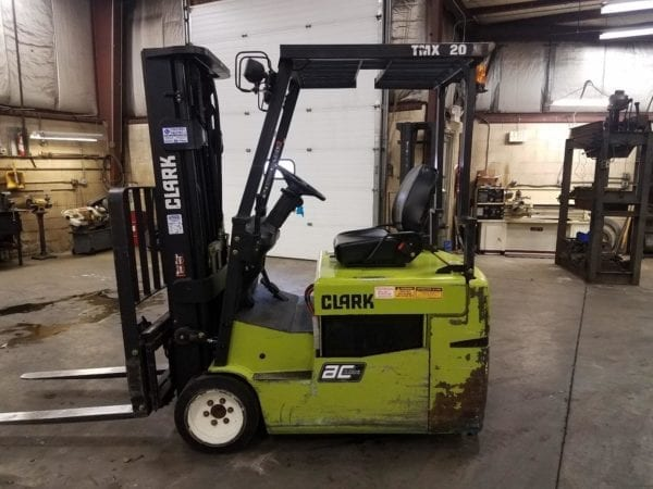 electric forklifts in Boyertown and new holland