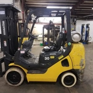 Komatsu Cushion Tire forklifts in Boyertown and New Holland, Pa