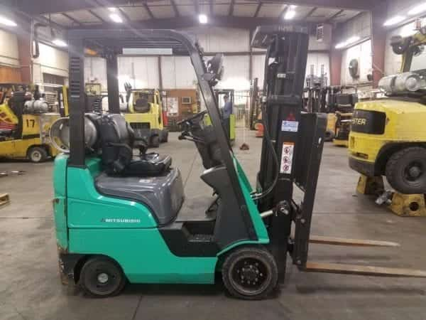 Mitsu Cushion Tire forklifts in Boyertown and New Hollland, Pa