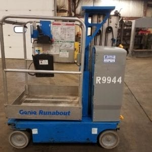 Scissor lifts in New Holland and Boyertown, Pa