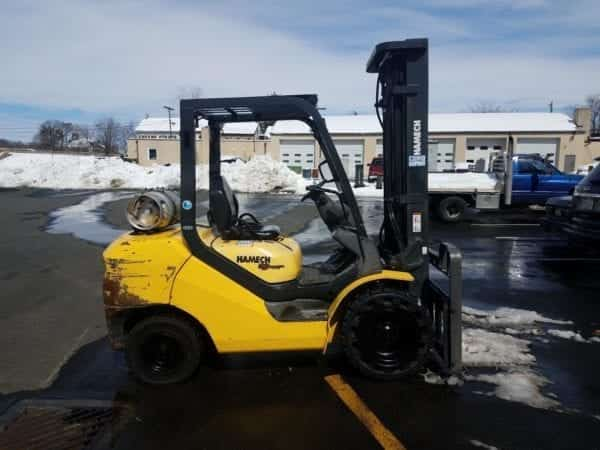 pneumatic tire forklifts in Boyertown and New Holland, Pa