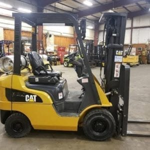 Pneumatic tire forklifts for rent in New Holland and Boyertown, Pa
