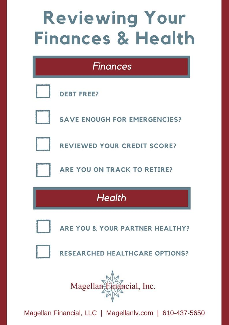 Reviewing Your Current Finances and Health Before Retirement