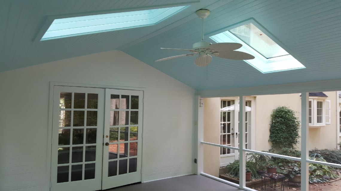 Sun room of Residential Home