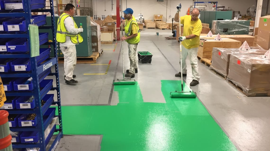 Thin Film Epoxy Floor Coating