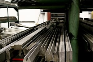 Alpine Metal Products, Materials