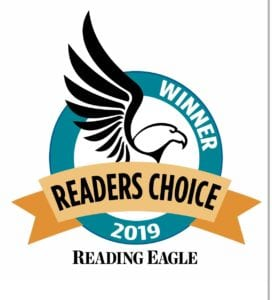 Mimmo's Voted Best Italian Restaurant by Reading Eagle's Readers Choice 2019