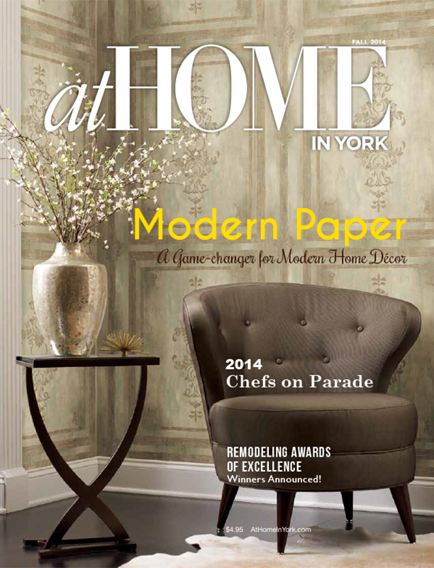 At Home In York The Official Publication of the York Builders Association of York County, Pennsylvania - Fall 2014