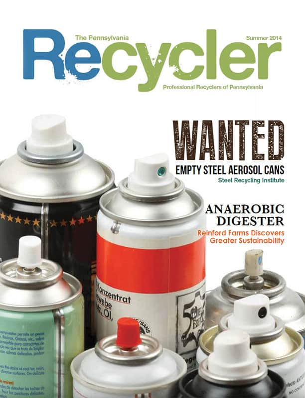 PA Recycler - The Official Publication of the Professional Recyclers of Pennsylvania (PROP) - Summer 2014