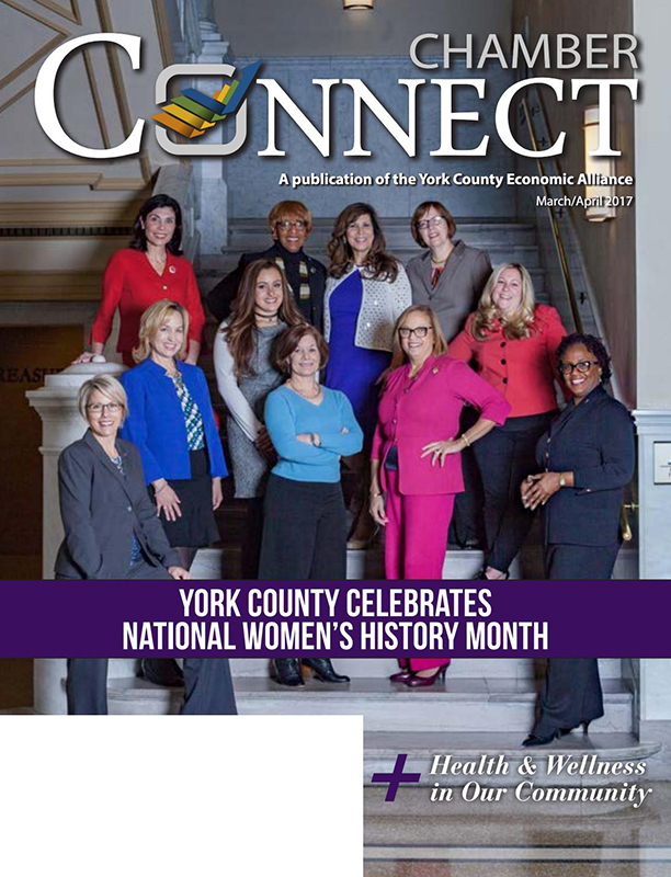 York County Connect - A Publication of the York County Economic Alliance - March/April - 2018